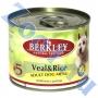 Беркли для взрослых собак телятина с рисом N 5