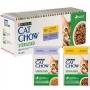 Cat Chow паучи для стерилизованных кошек с ягненком и курицей