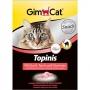 Джимпет Topinis витамины для кошек мышки с творогом и таурином