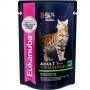 Эукануба пауч для кошек с говядиной в соусе