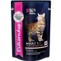 Эукануба пауч для кошек с лососем в соусе
