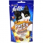 Felix Party mix лакомство для кошек с курицей, печенью, индейкой