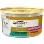 Gourmet Gold для кошек кусочки в подливке с кроликом и печенью