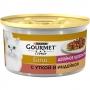 Gourmet Gold для кошек кусочки в подливке с уткой и индейкой