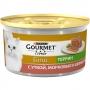 Gourmet Gold для кошек паштет с уткой, морковью и шпинатом