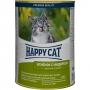 Happy Cat консервы для кошек с ягненком и индейкой в желе