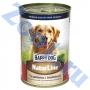 Хэппи Дог консервы для собак телятина с индейкой