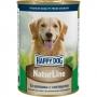 Хэппи Дог консервы для собак телятина с овощами