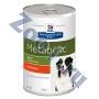 Hills Canine Metabolic консервы для собак для коррекции веса