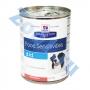 Хиллс D/D консервы для собак для лечения пищевых аллергий лосось