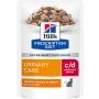 Хиллс пауч для кошек C D urinary stress при стрессе с курицей