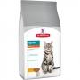 Хиллс сухой для домашних кошек - контроль веса и вывод шерсти