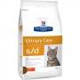 Хиллс сухой для кошек S/D для лечения МКБ