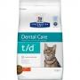 Хиллс сухой для кошек T/D для полости рта