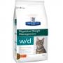 Хиллс сухой для кошек W/D контроль веса