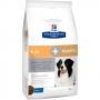 Хиллс сухой корм для собак K D Mobility для почек и суставов