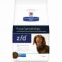 Хиллс сухой корм для собак мелких пород Z D лечение аллергий