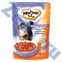 Мнямс пауч для взрослых кошек с яненком в соусе