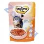 Мнямс пауч для взрослых кошек с лососем в соусе