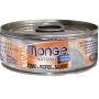 Монж консервы для кошек с тунцом и лососем