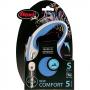 Рулетка Flexi New Comfort S (до 12 кг) тросовый поводок 5 м