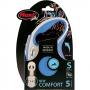 Рулетка Flexi New Comfort S (до 15 кг) ременной поводок 5 м