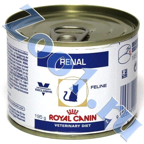 Корм для кошек Royal Canin (4 кг) Renal RF23 — купить по