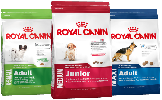 dog food packets rc